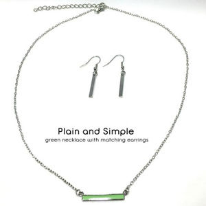 Green & Red Necklaces (2 sets)